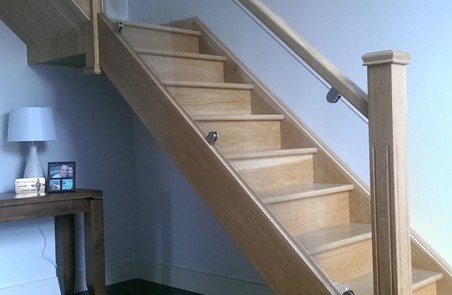 Glass panels for Stairs Munster