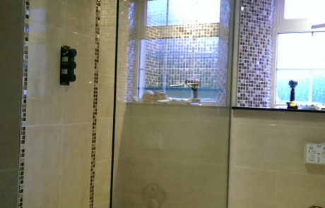 Walk In Shower Glass Panel