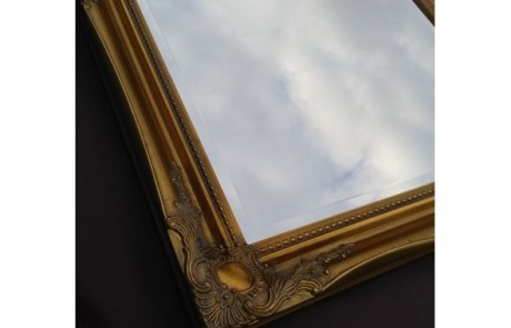 Gold framed Mirrors